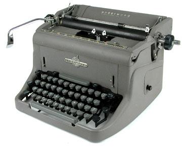 Underwood Model 150 Of 1955